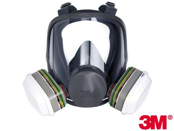 Maska ochronna całotwarzowa 3M-MAS-F-6000