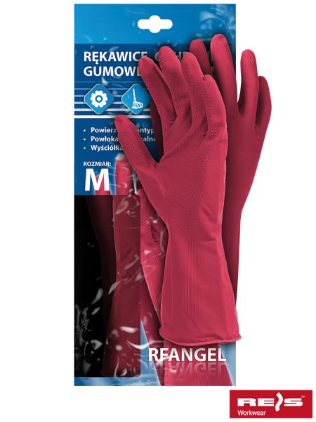Rękawice gumowe RF R