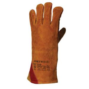 Rękawica spawalnicza ze wzmocnieniem