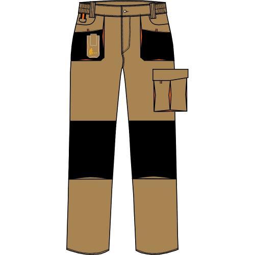 Spodnie do pasa URG-A 1