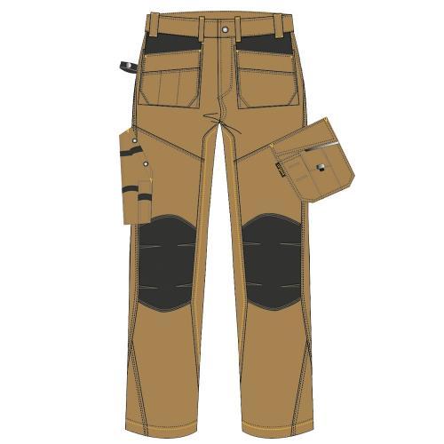 Spodnie do pasa URG-B 1