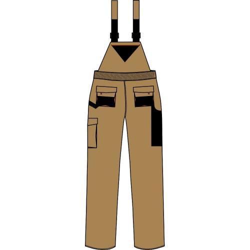 Spodnie ogrodniczki URG-A 2