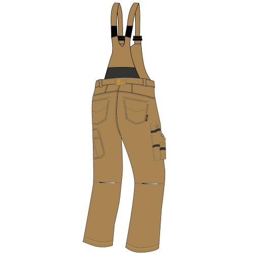 Spodnie ogrodniczki URG-B 2
