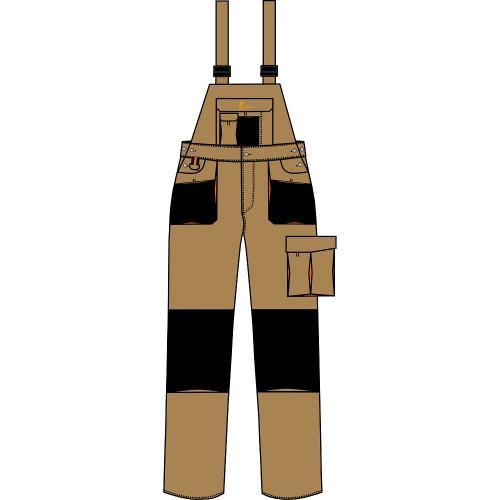 Spodnie ogrodniczki URG-A 1