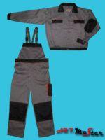 Ubranie robocze ART.MASTER stalowo - czarne